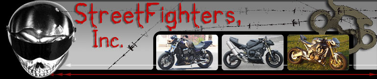 Suzuki GSXR 600 - 750 - 1000 SteetFighter, SportBike & Motorcycle Accessories StreetFighters Inc.